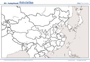 asien topographie