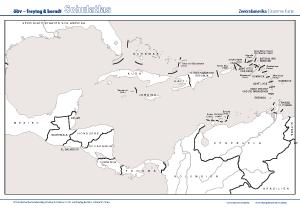 afrika topografischer überblick arbeitsblatt