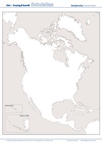 Stumme Karte Nordamerika.öbv F B Schulatlas Online