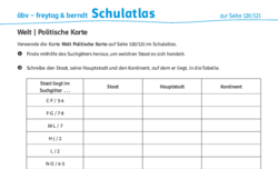 Welt – Arbeitsblätter – schulatlas.com