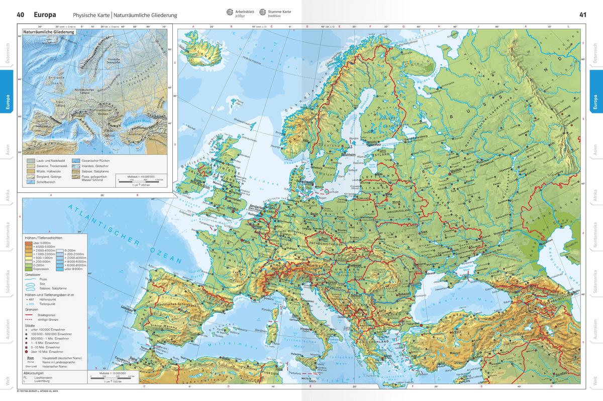 Europa – Interaktiver Atlas – schulatlas.com